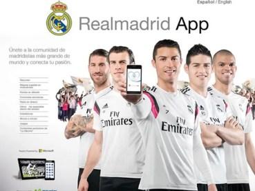 Con Real Madrid App podrás ver los partidos del Real Madrid en Champions