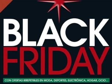 Black Friday en El Corte Inglés, 28 de noviembre