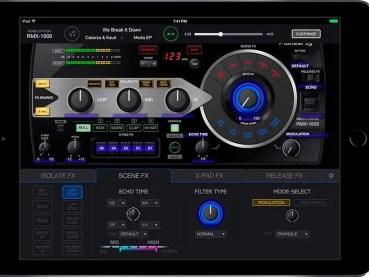 RMX-1000 para iPad, la app táctil que añade efectos a tus mezclas