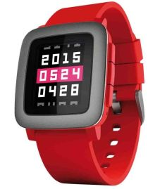 pebble.time-rojo