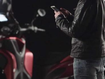 Samsung presenta un parabrisas inteligente para motos muy futurista