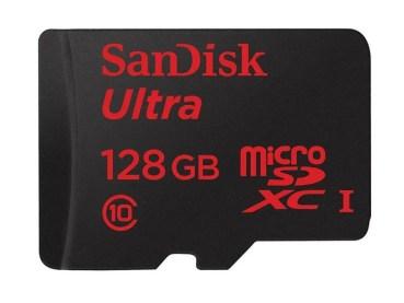¡SanDisk Ultra de 128 GB por 42 €!