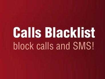 Bloquea las llamadas y SMS que tú decidas con Calls Blacklist