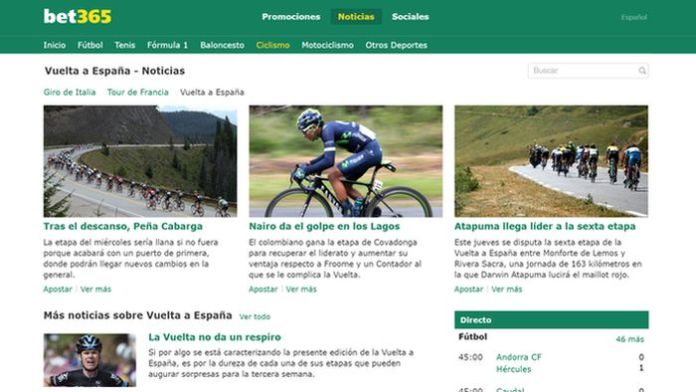 Vuelta a España bet365