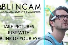 Con Blincam podrás hacer fotos con solo guiñar el ojo