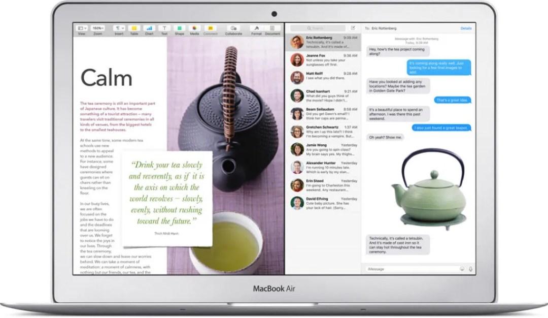 macbook air desaparece