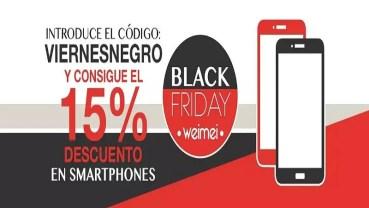 Weimei Mobile está de rebajas desde el 15 por ciento hasta mitad de precio