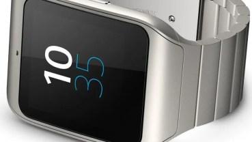 ¡Black Friday! ¡Sony SmartWatch 3 con correa de metal por 129 euros!