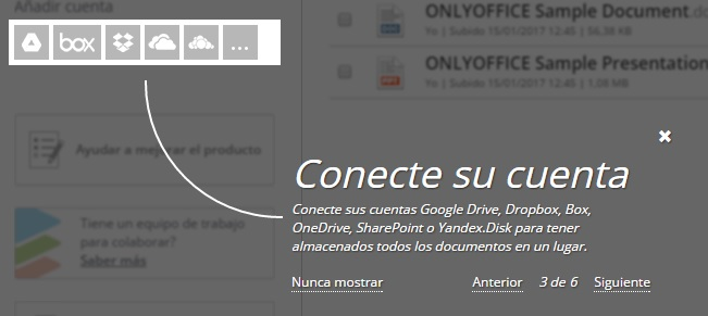onlyoffice-conecta cuenta