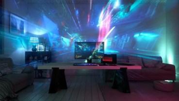 Razer Chroma se expande y anuncia Project Ariana para proyección de juegos en la habitación