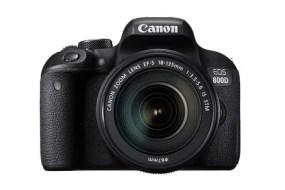 Canon presenta dos nuevas cámaras réflex digitales: EOS 77D y EOS 800D