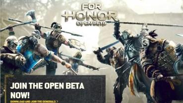 Puedes jugar a For Honor en Xbox One, PlayStation 4 y PC descargando su beta abierda hasta mañana 13