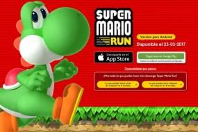 Super Mario Run llegará este 23 de marzo a dispositivos Android