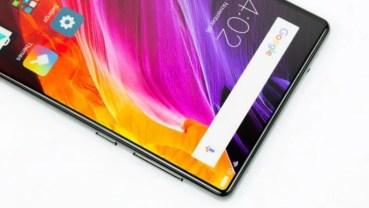 Xioami Mi Mix 2 llegará con una pantalla que cubrirá el 91,3% del frontal