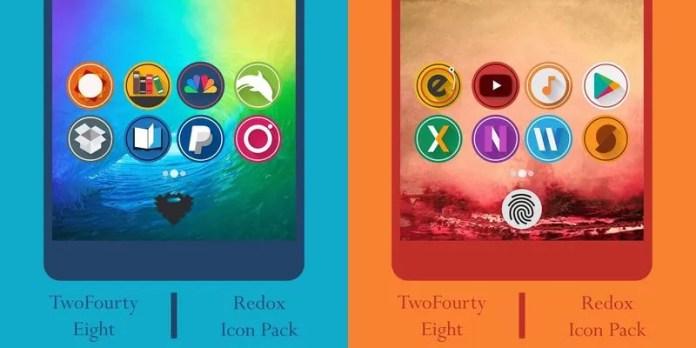 redox icon pack aplicaciones gratuitas