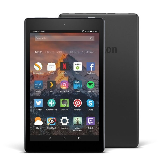 amazon fire 8 pulgadas tablet