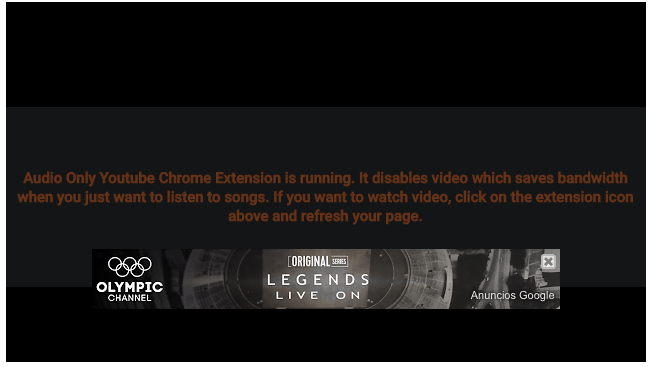 only audio youtube extension