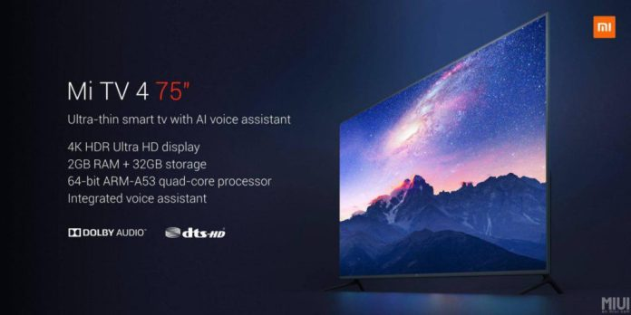 Xiaomi-mi-tv-4k-75-pulgadas