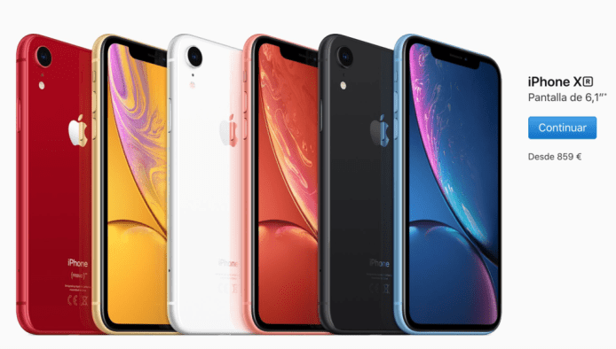 El iPhone Xr no agota sus reservas. ¿Menos ventas de lo esperado?