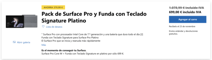 Surface Pro Black Friday