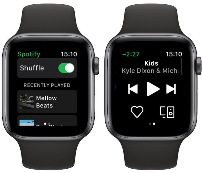 Spotify-Apple Watch