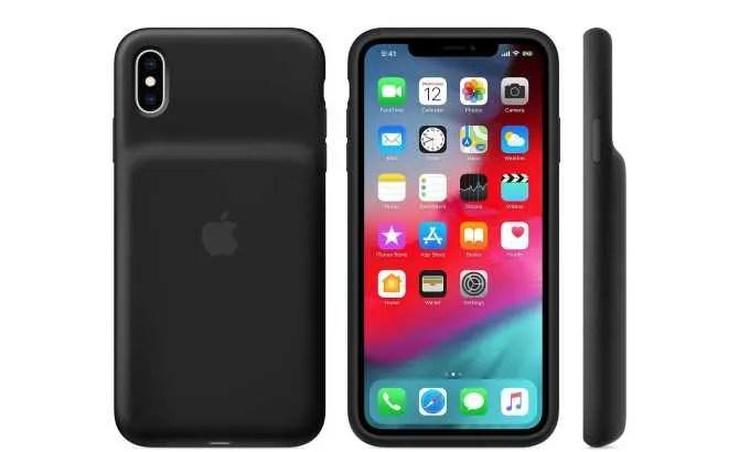 Apple lanza fundas con batería recargable para el iPhone XS, XS Max y XR por 149 euros