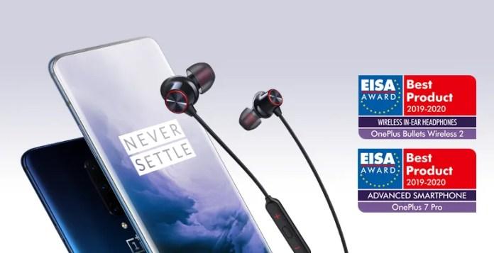 EISA galardona a OnePlus con dos prestigiosos premios