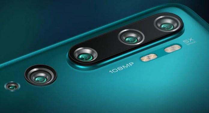 Xiaomi Mi Note 10: conjunto de 5 cámaras traseras con un impresionante sensor de 108 MPx