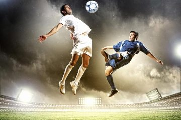 Top footballer's horoscope and planetary positions