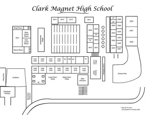 Edison High School Campus Map