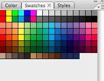 Photoshop swatches