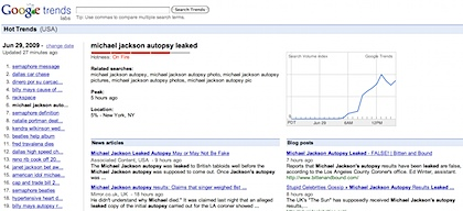 Google Trends_ michael jackson autopsy leaked, Jun 29, 2009