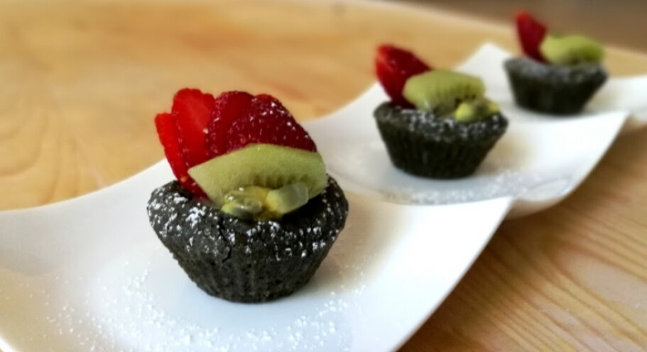 mini crostatine con frutta fresca