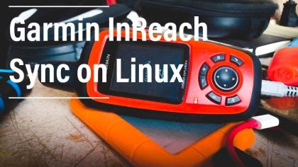 Garmin inReach linux