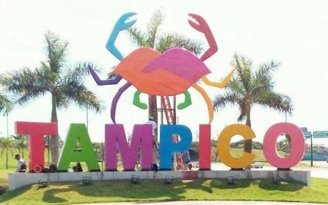 Entrada al Puerto de Tampico