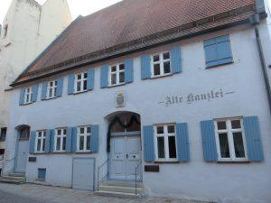 Rathausgasse Alte Kanzlei (Scharfes Eck)