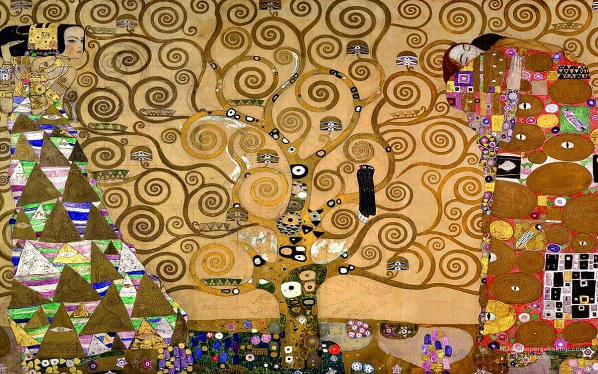 Gustav Klimt / The tree of life