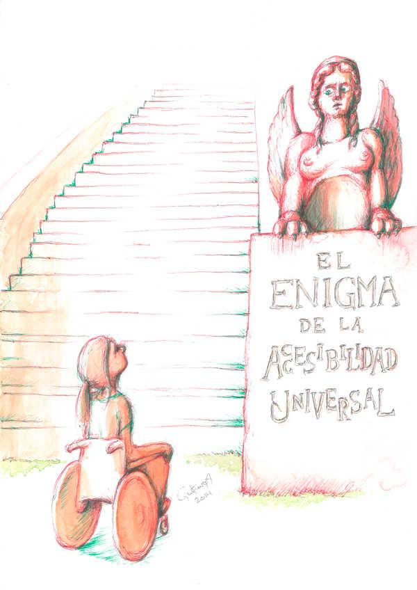 Ilustración: El enigma de la accesibilidad universal. Museos.es (Nº 9-10) | por: Gustavo Adolfo Diaz G.
