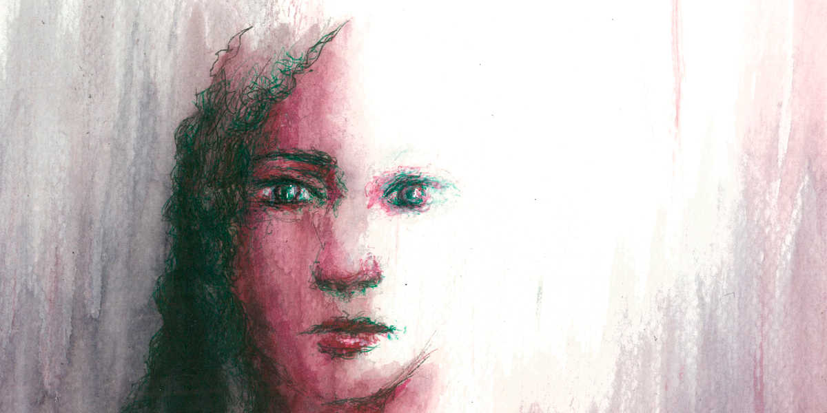 Dibujo: Ausencia 05 (detalle banner)