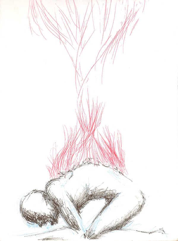 Dibujo: Rojo y negro; Blanco 05,0