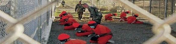 Prisioneros en Guantanamo