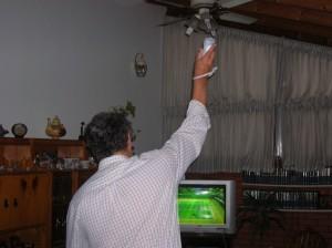 Jugando con la Nintendo Wii