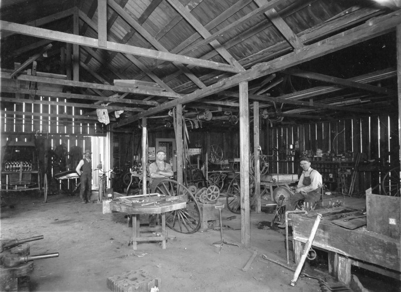 1909 Jensen Blacksmith Shop
