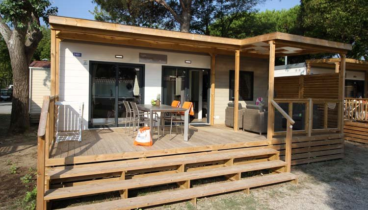 Stacaravan Lounge Deluxe XL  Adriatische kust  Itali
