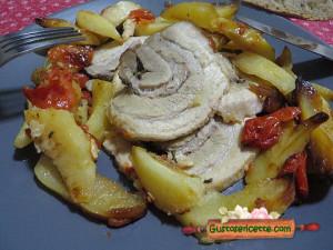 porchetta al forno, buona e gustosa!