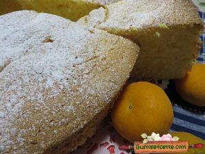 chiffon cake al mandarino, soffice e gustoso