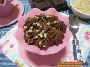 Coppette mousse al cioccolato