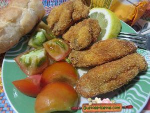 Alette di pollo fritte farina di mais