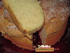 Chiffon cake limoncello e nocciole
