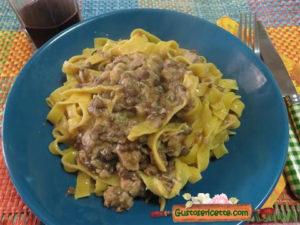 Fettuccine tonno e lenticchie